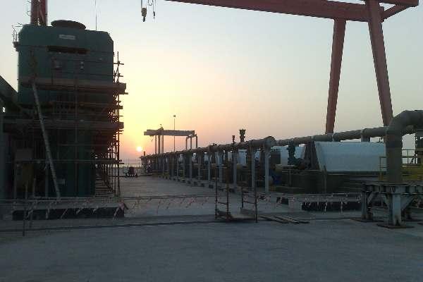 Seawater Solutions Band Screens in Saudi Arab